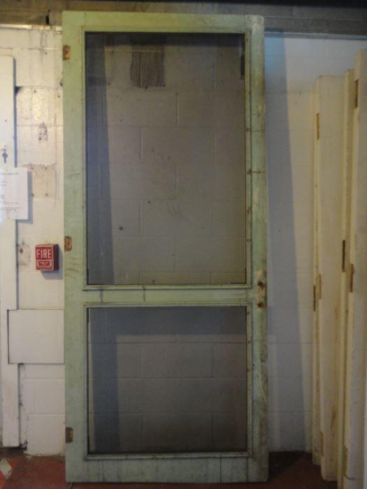 vintage wooden screen doors 2