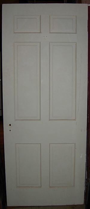 2633   Six Panel Antique Wood Door